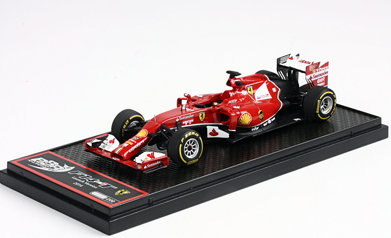 BBR 1/43 Ferrari F14-T Launch Version 2014