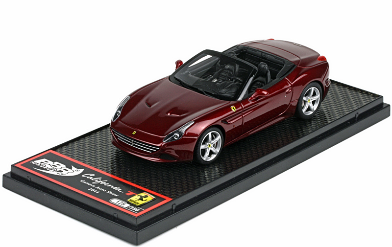 BBR 1/43 Ferrari California T 2014 Rosso California