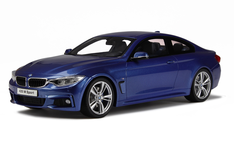 GT Spirit 1/18 BMW M435i Met. Blue