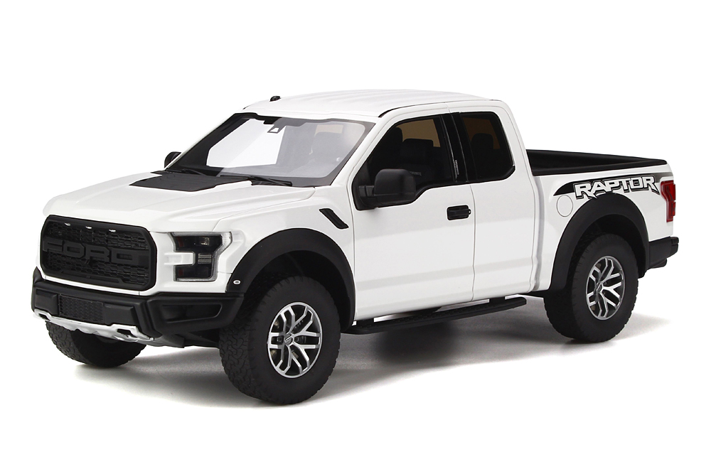 GT Spirit 1/18 Ford F150 Raptor Oxford White