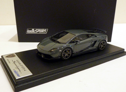 Looksmart 1/43 Lamborghini LP570-4 Superleggera Telesto Grey