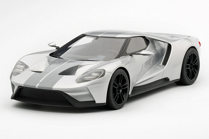 TopSpeed 1/18 Ford GT Chicago Autoshow 2015 Silver
