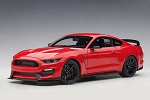 Autoart 1/18 Ford Mustang Shelby GT-350R Race Red