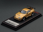 IG Model 1/64 Toyota Supra (JZA80) RZ Gold