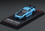 IG Model 1/64 Mazda RX-7 (FD3S) RE Amemiya Light Blue
