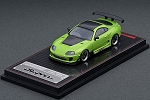 IG Model 1/64 Toyota Supra (JZA80) RZ Metallic Green