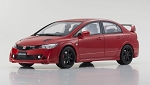 Samurai 1/18 Honda Civic FD2 Mugen RR Red