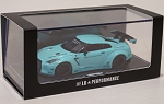 1/64 LB Works Nissan GT-R R35 GT Wing Tiffany Blue