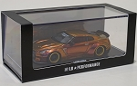 1/64 LB Works Nissan GT-R R35 Ducktail Chameleon Gold