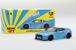 Mini GT 1/64 LB Works Nissan R35 GT-R Baby Blue