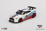 Mini GT 1/64 LB WORKS Nissan GT-R (R35) Martini Racing