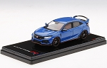 TSM 1/43 Honda Civic (FK8) Type R Aegean Blue