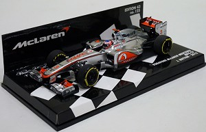 Minichamps 1/43 McLaren MP4/27 J.Button 2012