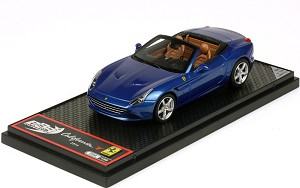 BBR 1/43 Ferrari California T 2014 Met. Blue