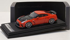 IG Model 1/43 Top Secret GT-R R35 Red