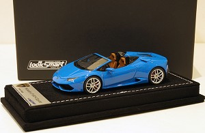 Looksmart 1/43 Lamborghini Huracan LP610-4 Spider Blue LeMans