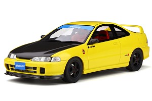 Otto 1/18 Honda Integra (DC2) Spoon Yellow