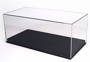 BBR 1/18 Display Case - Black Leather Base